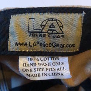 LA Police Gear Accessories - Tan and olive green American flag hat 002931648de5